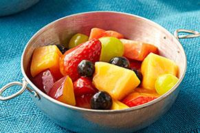 Cremosa ensalada de frutas