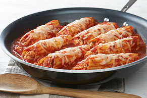 30-Minute Chicken Manicotti Skillet