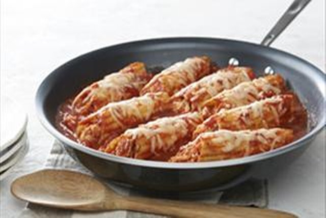 All-in-One Chicken Manicotti Skillet Image 1
