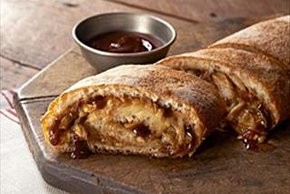 BBQ Chicken Pizza Roll