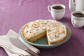 Coconut-Pumpkin Pudding Pie