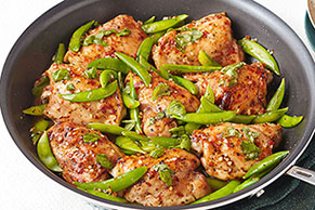 Chicken & Snap Pea Skillet