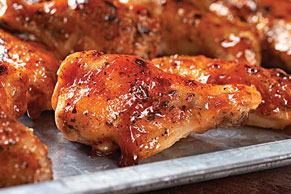 Garlic & Herb-BBQ Wings Recipe