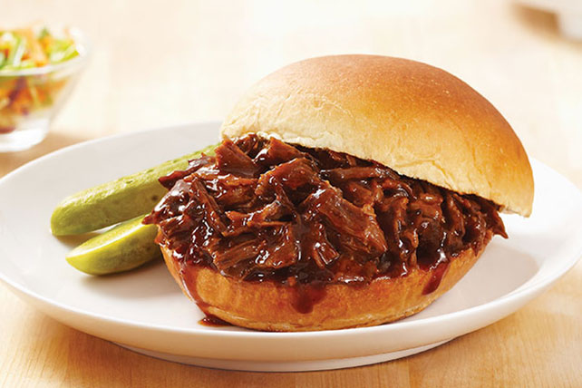 Slow-Cooker BBQ Beef - Kraft Recipes