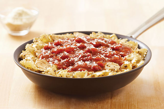 KRAFT RECIPE MAKERS Chicken Bruschetta Pasta Image 1