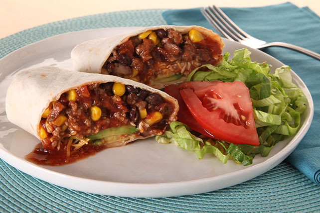 KRAFT RECIPE MAKERS Beefy Burrito Image 1