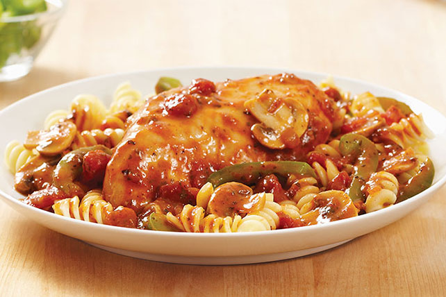 Simple Slow-Cooker Chicken Cacciatore Recipe Image 1