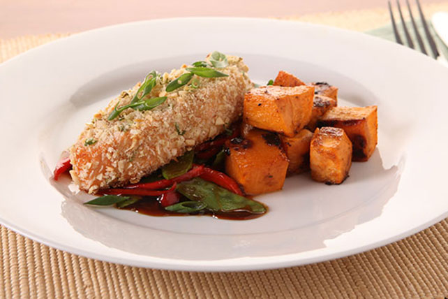 Asian Almond Salmon Image 1