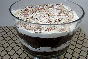Chocolate Brownie Trifle