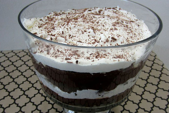Chocolate Brownie Trifle Image 1