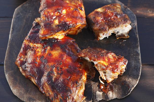 Côtes levées de dos de porc Image 1