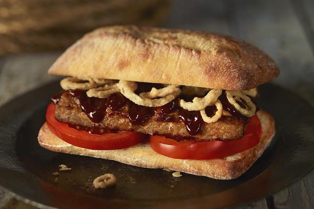 Sandwich aux côtes levées de porc Image 1