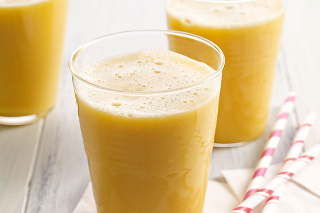 Orange-Mango-Pineapple Smoothie