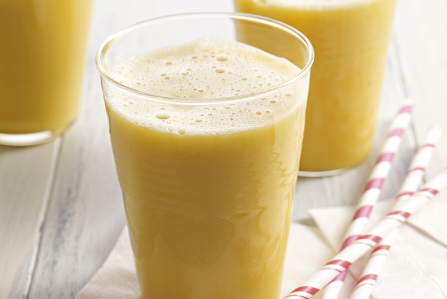 Pineapple-Orange-Mango Smoothie Image 1