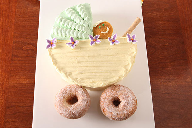 "Baby ""Carriage"" Cake Image 1"