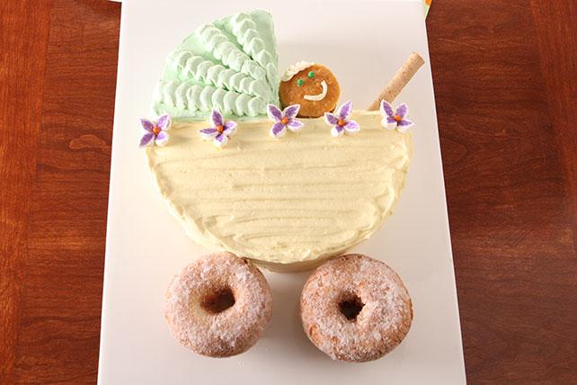 Pastel de cochecito de bebé Image 1