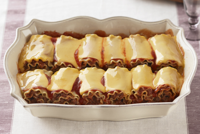 Cheesy Lasagna Roll-Ups Image 1