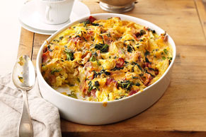 Better Choice Do-Ahead Egg Bake