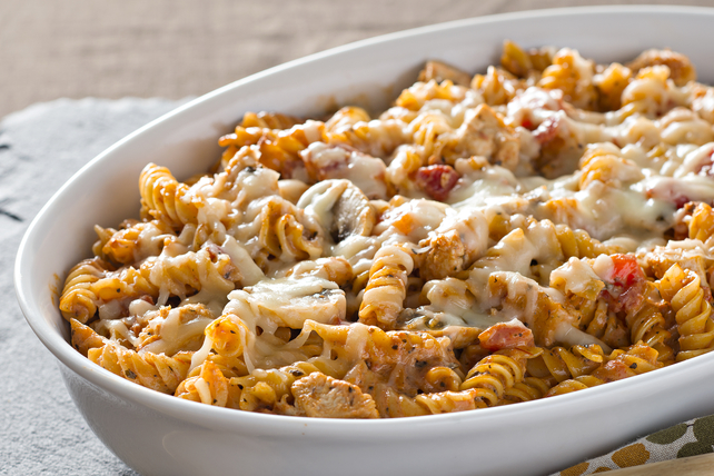 Creamy Chicken Mushroom Pasta Bake Recipe Kraft Canada