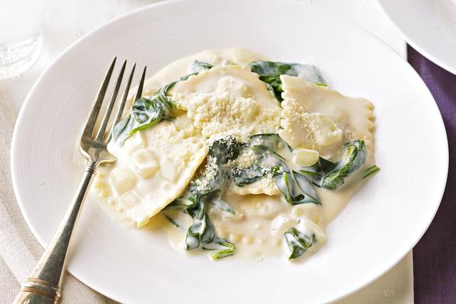 Creamy Spinach Ravioli Image 1