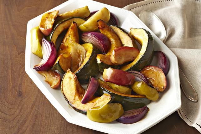 Courge poivrée, pommes et oignons rôtis Image 1