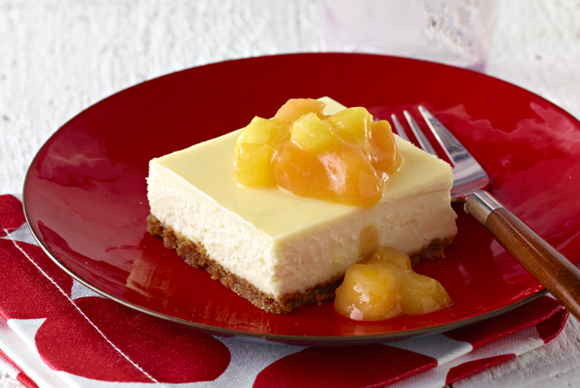 Pineapple-Mango Cheesecake