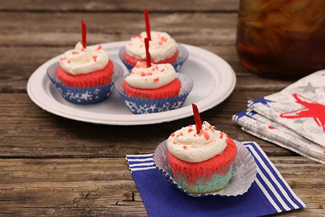 Patriotic Cupcakes Image 1