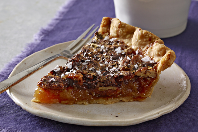 Salted-Chocolate Pecan Pie Image 1