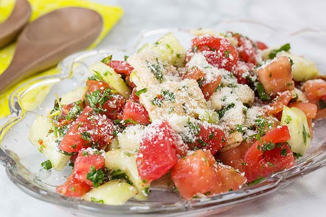 Fattoush-Cucumber Salad Image 1