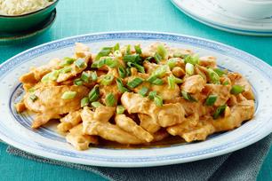 Spicy Peanut-Chicken Stir-Fry