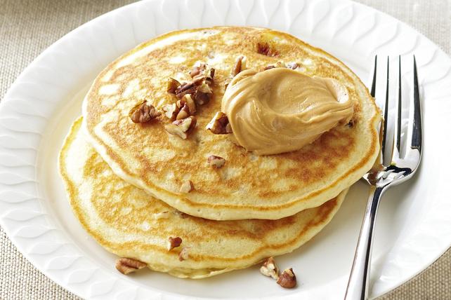PB & Banana Pancakes Image 1