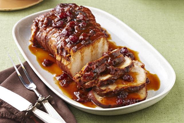 Rôti de porc aux canneberges et à l'orange à la mijoteuse Image 1