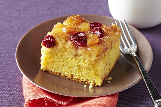 Gâteau aux pommes et aux canneberges caramélisées Image 1