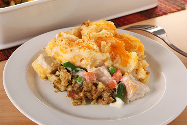 Thanksgiving Leftovers Casserole Image 1