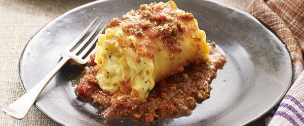 Creamy Lasagna Roll-Ups