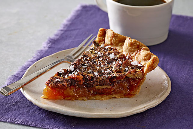 Salted-Chocolate Pecan Pie Recipe - Kraft Recipes