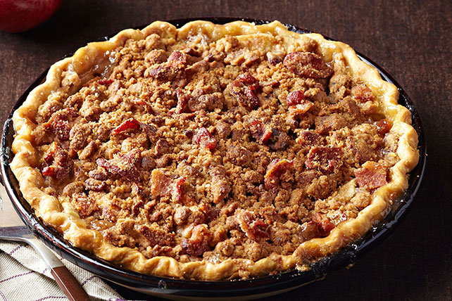 Bacon-Bourbon Apple Pie Image 1