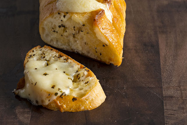 Cheesy Garlic-Basil Bread Image 1