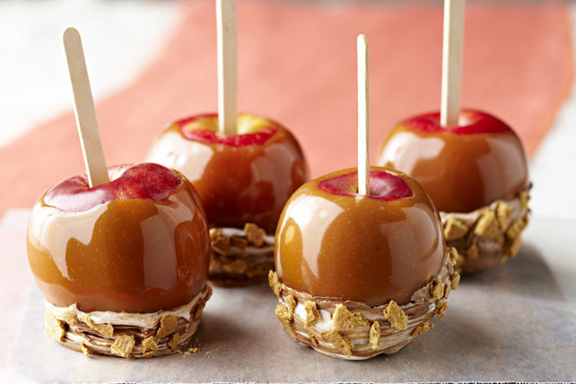 S'more Caramel Apples Image 1