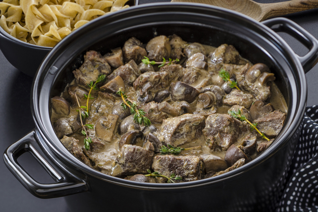 Slow-Cooker Beef Stroganoff Made Over Image 1