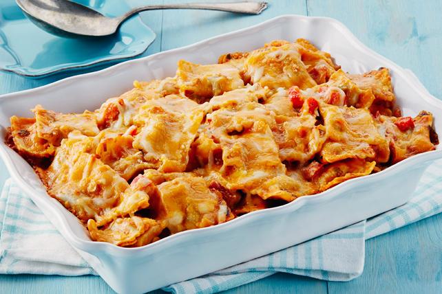 Casserole de raviolis aux tomates Image 1
