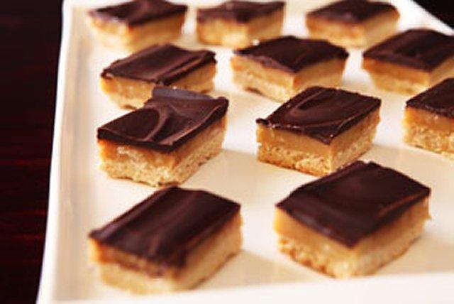 Carrés au chocolat et au caramel Image 1