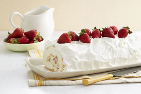 Heavenly Strawberry Roll