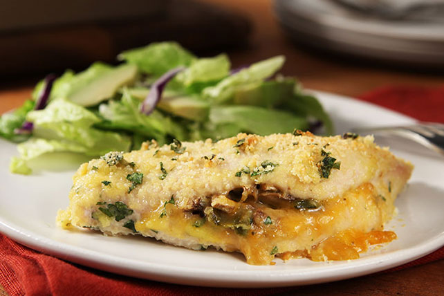 Cheesy Poblano-Stuffed Chicken Breasts Image 1