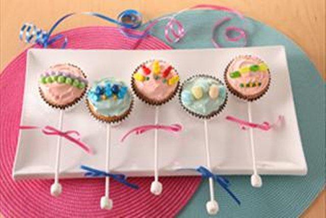"""Baby-Cakes"" Rattles Image 1"