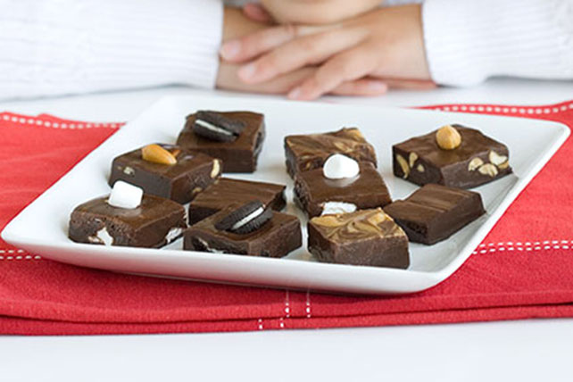 BAKER'S Easy Chocolate Fudge with the Works Image 1
