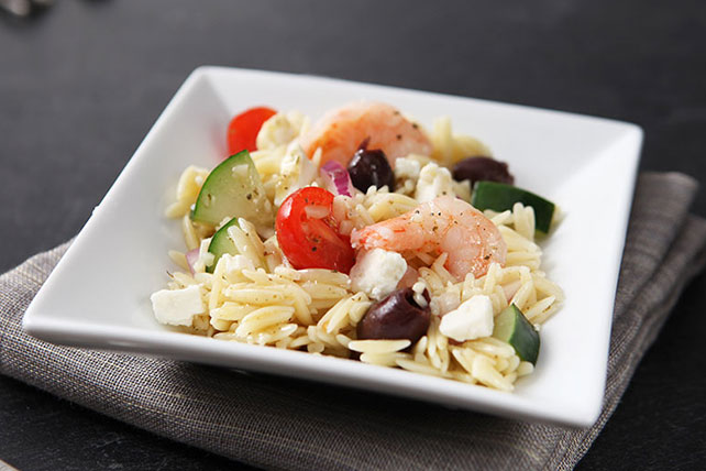Greek Shrimp Salad with Feta