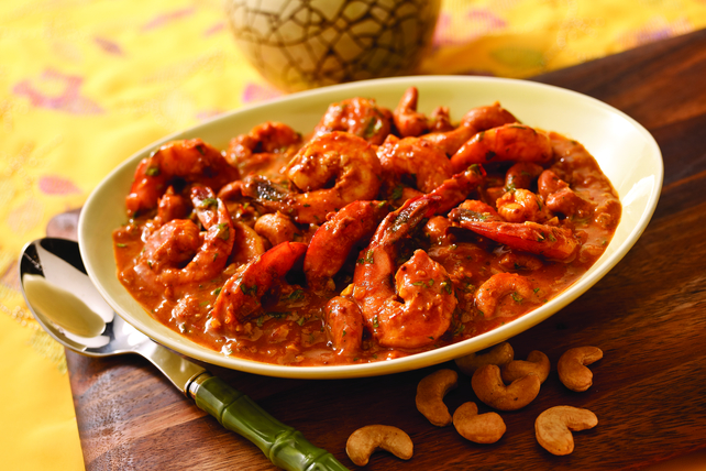 Kerala Cashew-Shrimp Curry Image 1