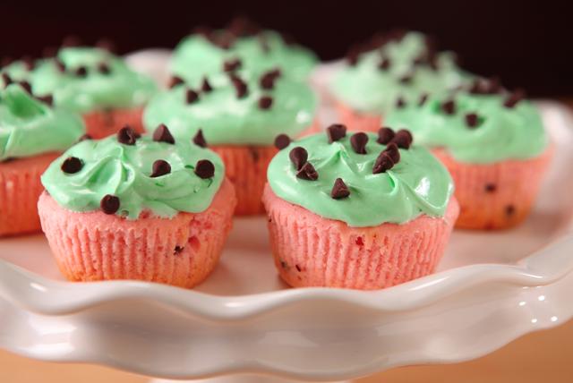 Cupcakes de KOOL-AID de melón Image 1