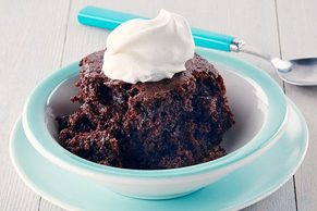 Slow-Cooker Chocolately Chocolate Cake